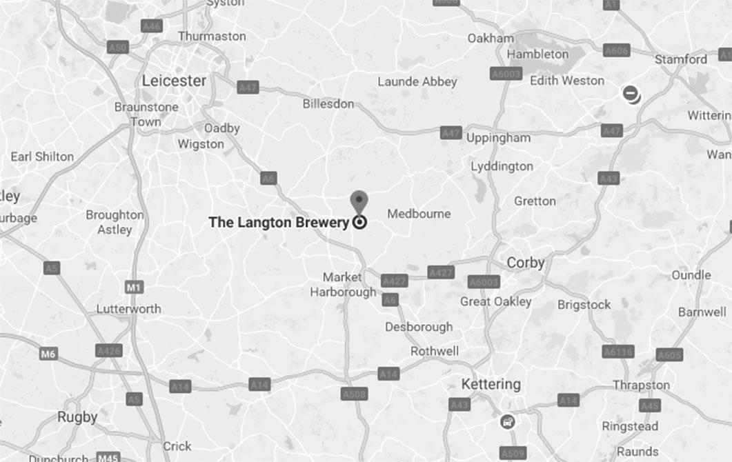 Langtons brewery map
