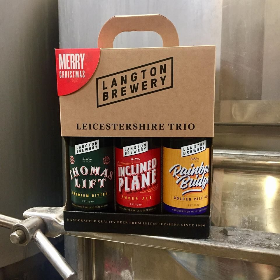Gift For Beer Drinkers: 3 Handcrafted Traditional Ales